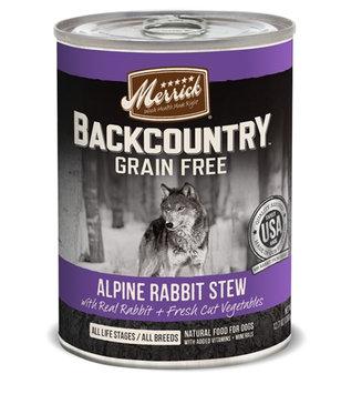 Merrick Backcountry Stew Alpine Rabbit 12.7 oz Can