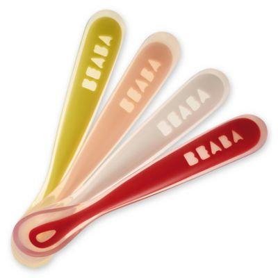 BEABA Silicone Spoons - Neon - Set of 4