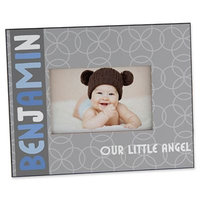 Trendy Baby Boy 4-Inch x 6-Inch Picture Frame