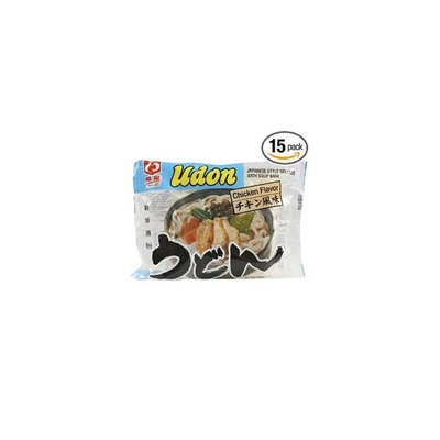 Myojo Udon Chicken Flavor Japanese Style Noodles with Soup Base 7.22 oz