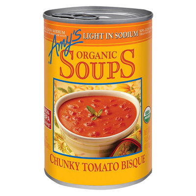 Amy's Kitchen Amy's Organic Light in Sodium Chunky Tomato Bisque Soup 14.5 oz