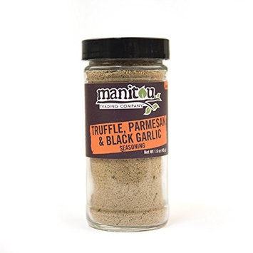 Truffle, Parmesan & Black Garlic Seasoning, 1.6 Oz Glass Jar