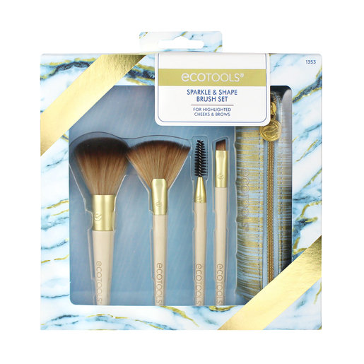 Slide: ecotools Sparkle & Shape Brush Set