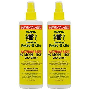 Jamaican Mango & Lime No More Itch Gro Spray Maximum Relief 16oz