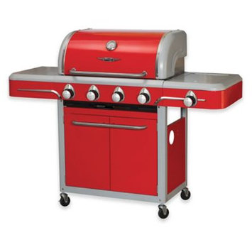 Bull Outdoor Bel Air 4 Burner Red Cart