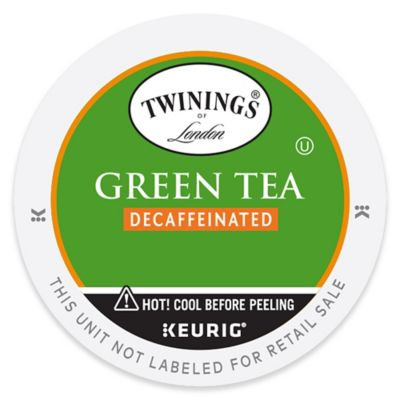 Keurig® K-Cup® Pack 18-Count Twinings of London® Decaf Green Tea