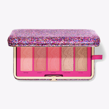 tarte™ life of the party clay blush palette & clutch