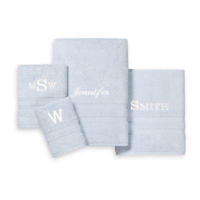 Wamsutta® UltraSoft MICRO COTTON Washcloth in Ice Blue