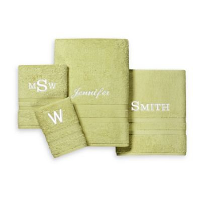 Wamsutta® UltraSoft MICRO COTTON Washcloth in Green Apple