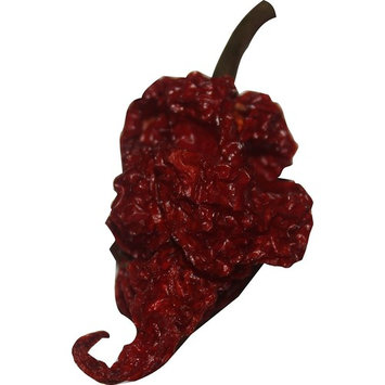 Carolina Reaper Chili Peppers Wicked Reaper World's Hottest Dried Spice 10 Pack +2 Free
