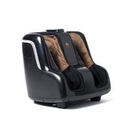Human Touch® Reflex SOOTHE Foot & Calf Massager in Black/Brown