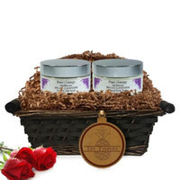Pure Energy Apothecary Supreme Sensation Lavender Split Letter Pineapple Gift Basket