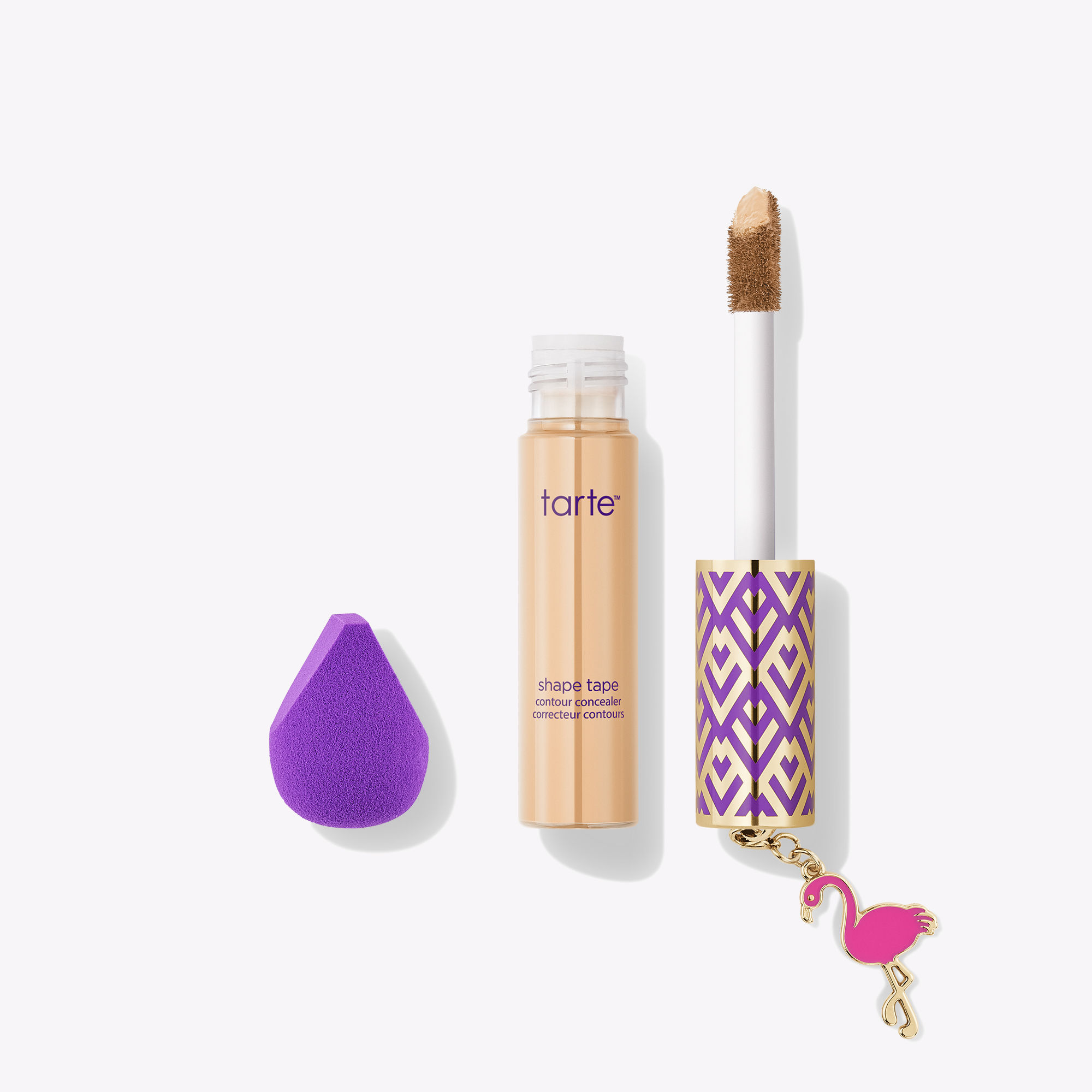 tarte™ shape tape concealer & mini sponge set