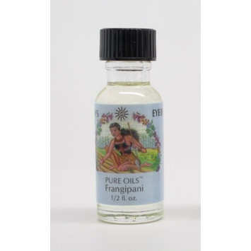 Frangipani - Sun's Eye Pure Oils - 1/2 Ounce Bottle by Sun's Eye Pure Oils