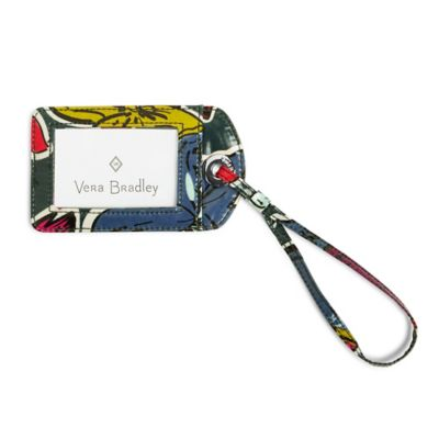 Vera Bradley Luggage Tag in Falling Flowers