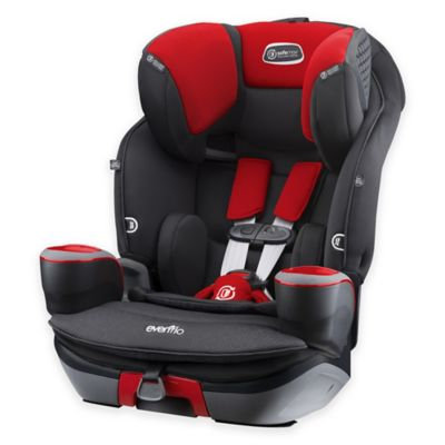 Evenflo SafeMax 3-in-1 Combination Car Seat - Crimson