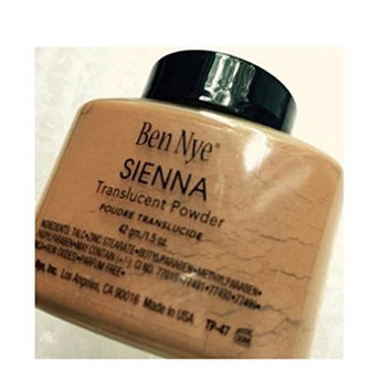 Ben Nye Powder Translucent 1.5 oz Sienna