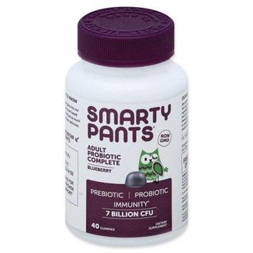 SmartyPants Adult Probiotic Gummies Blueberry - 60ct