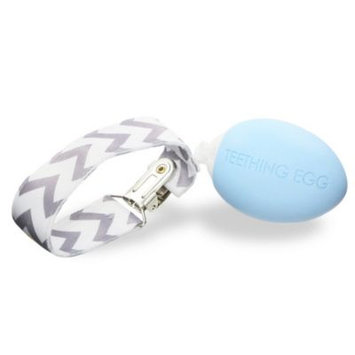 The Teething Egg™ Teether in Baby Blue