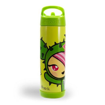 ZoLi Pip Toki 16 Oz. Straw Water Bottle in Green