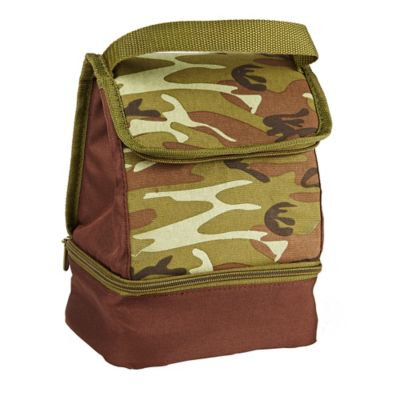 Fit & Fresh Austin Insulated Lunch Bag, Forest Camo