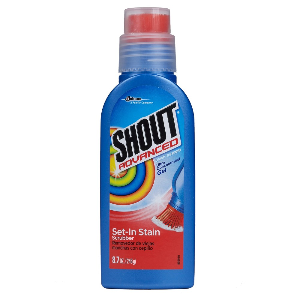 S.c. Johnson Shout Advanced Ultra Gel Laundry Stain Remover Brush - 8.7 oz