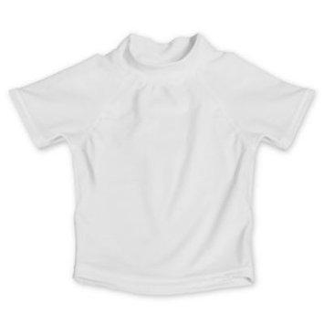My SwimBaby® Size Large UV Shirt in White