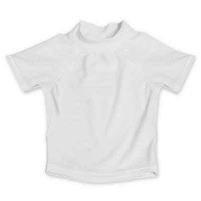 My SwimBaby® Size 3T UV Shirt in White