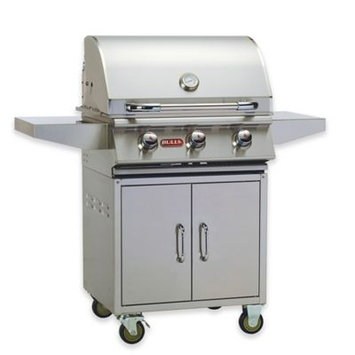 Bull Grills 24-Inch Stainless Steel Propane Grill with Cart