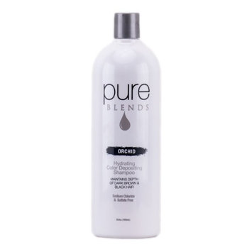 Pure Blends Hydrating Color Depositing Shampoo - Orchid - 33.8 oz