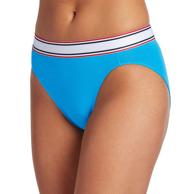 Jockey Retro Stripe Hi-Cut Panty 2254