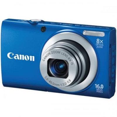 Canon PowerShot A4000 IS Blue Digital Camera - A4000ISBLUE
