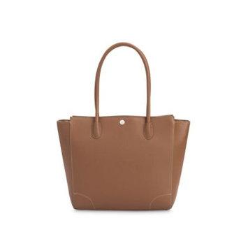Little Unicorn Leather Diaper Handbag Brown