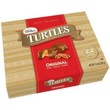 Generic Turtles Brand Original Caramel Nut Clusters Holiday Gift, 12.8 oz