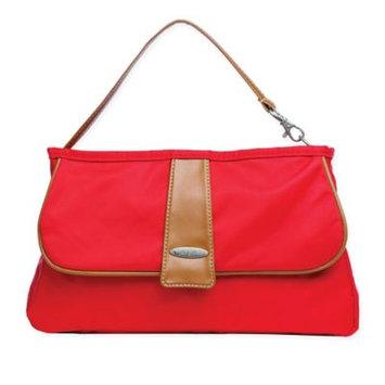 Vilah Bloom Infant Vilah Boom Cottage Clutch Diaper Bag - Red