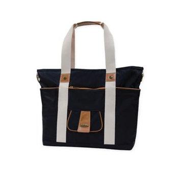 Infant Vilah Bloom Harbor Side Tote Diaper Bag - Black