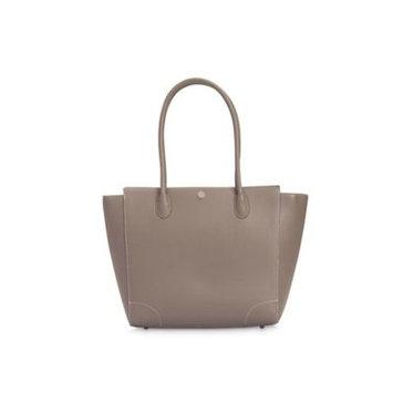 Little Unicorn Leather Diaper Handbag Grey