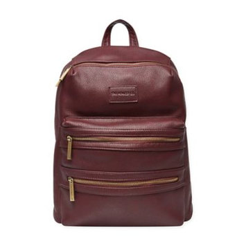 Infant Girl's The Honest Company 'City' Faux Leather Diaper Backpack - Purple