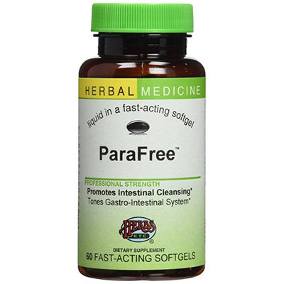 Herbs Etc - ParaFree Alcohol Free - 60 Softgels