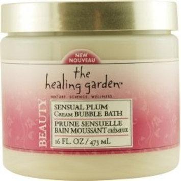 The Healing Garden Cream Bubble Bath - Sensual Plum: 16 OZ