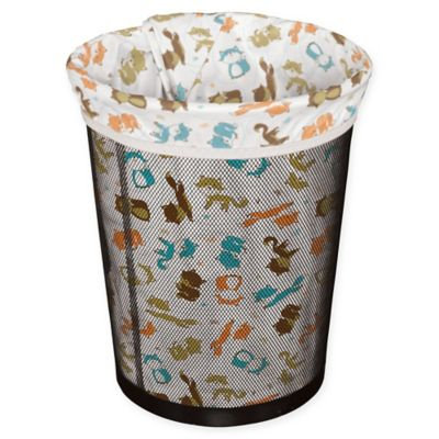Planet Wise Small Reusable Trash Liner in Fox Trot