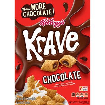 Krave Milk Chocolate Cereal - 11.4 oz - Kellogg's