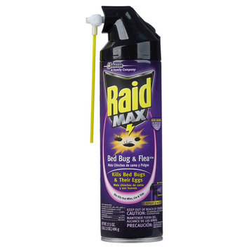 S.c. Johnson Raid Max Bed Bug and Flea Killer - 17.5 oz