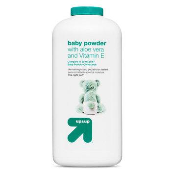 Baby Powder - Aloe Vera Vitamin E (Compare to Johnson's Baby Powder Cornstarch) - 22oz - up & up