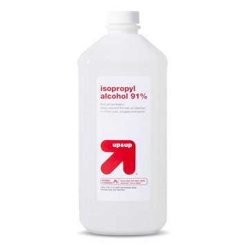 Up & Up Isopropyl Alcohol 91% - 32 fl oz bottle