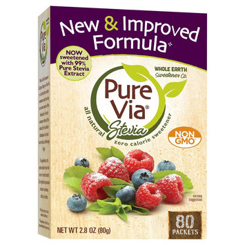 Merisant Company Purevia All Natural Sweetener 2.8 oz 80 ct