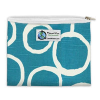Planet Wise™ Twill Zipper Sandwich Bag in Grey