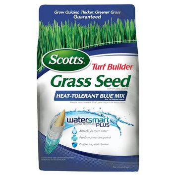 Scott's Scotts Turf Builder Grass Seed Heat Tolerant Bluegrass Mix 3lb