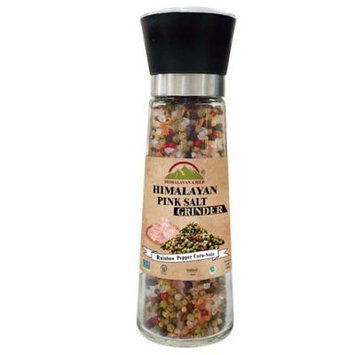 Himalayan Chef 977817 11.5 oz Salt Rainbow Pepper Grinder Pack of 6