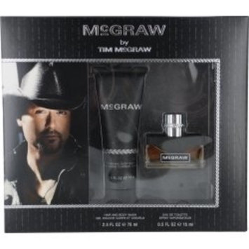 MCGRAW by Tim McGraw Gift Set for MEN: EDT SPRAY .5 OZ & HAIR AND BODY WASH 2.5 OZ